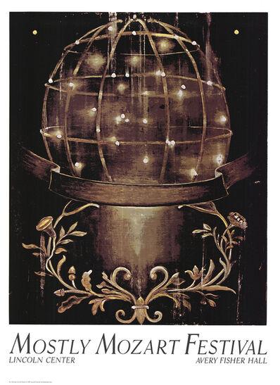 Ross Bleckner, 'Sphere And Moulding', 1987