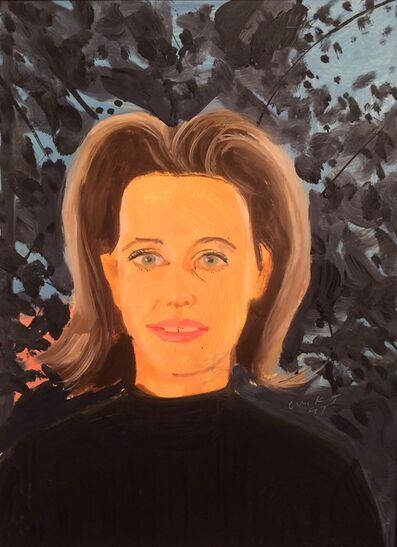 Alex Katz, 'Study for black sweater', 1997