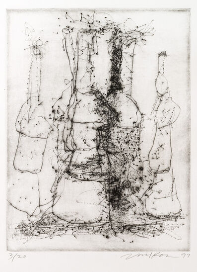 Peter Voulkos, 'Untitled Dry Point Etching CR 299-PR', 1997
