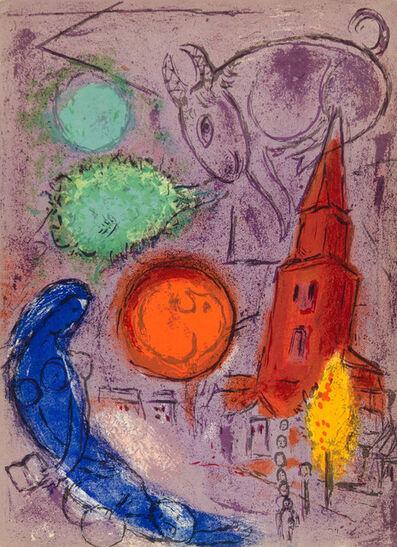 Marc Chagall, 'SAINT-GERMAIN DES PRÉS', 1954