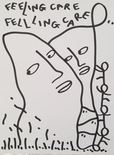 Shantell Martin, 'FEELING CARE/ FELLLING CARE', 2019