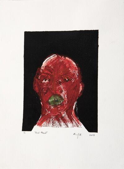 Richard Mudariki, 'Red Head', 2018