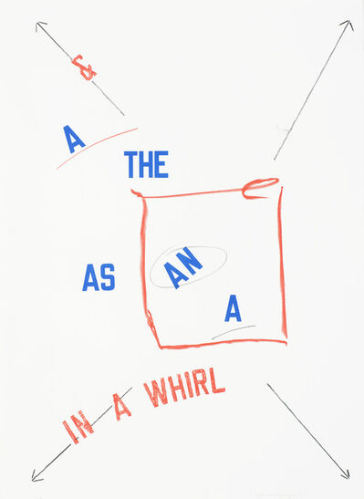 Lawrence Weiner, 'A and The', 2008