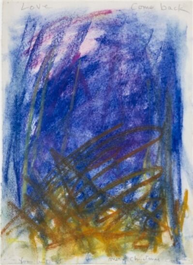 Joan Mitchell, 'Untitled (Love come back)', ca. 1977