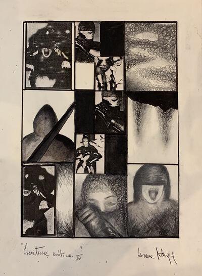 Susana Rodríguez, 'Escritura erótica IV', 1984