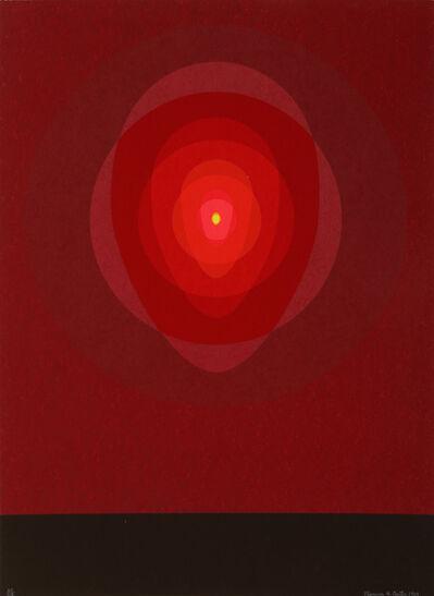 Clarence Holbrook Carter, 'Untitled - Red Mandala', 1967