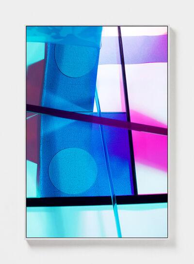 Lydia Wegner, 'Blue Cross Over', 2019
