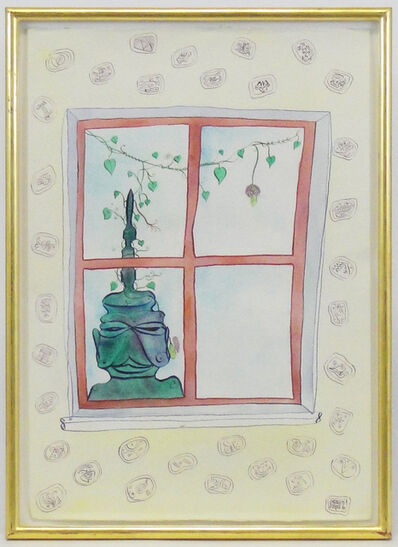 Luigi Ontani, 'The vengeance at window', 1987