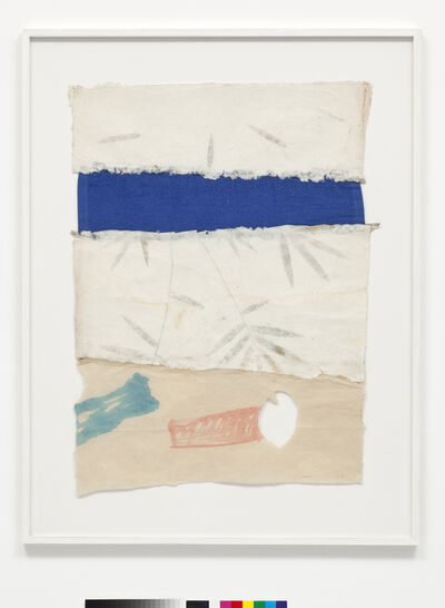 Joe Fyfe, 'Blue Cloth Drawing', 2011