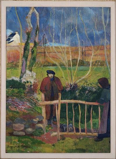 Paul Gauguin, 'Bonjour Monsieur Gauguin', 1889