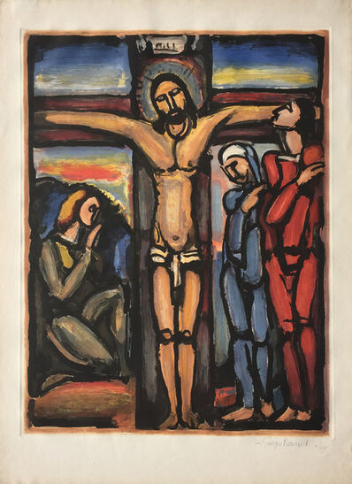 Georges Rouault, 'Christ en Croix (Christ on Cross) ', 1936