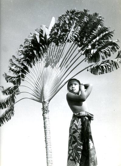 Gotthard Schuh, 'Balinese girl, c 1930', 1930s