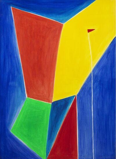 Nicola De Maria, 'Testa di un angelo vittorioso', 1978-1988