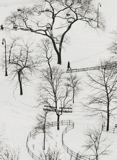 André Kertész, 'Washington Square Park', 1954-printed later