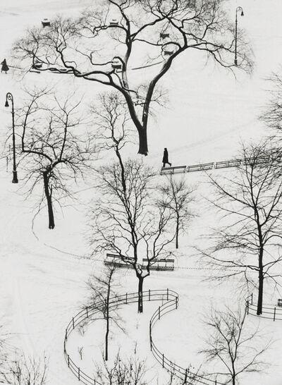 André Kertész, 'Washington Square Park', 1954-printed later