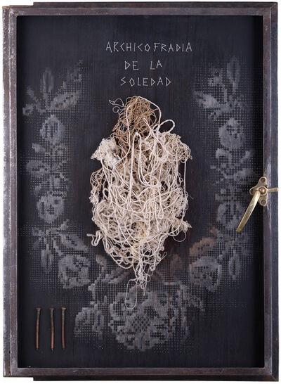 CLAUDIA PEÑA, 'Archicofradia de la Soledad, Serie recogimiento', 2014