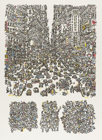 Costantino Nivola, 'City', 1975