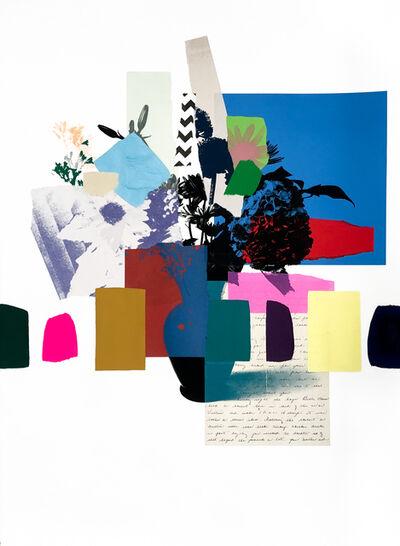 Emily Filler, 'Paper Bouquet (white flower)', 2020