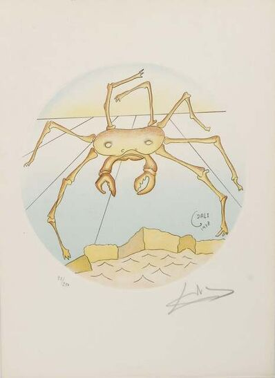 Salvador Dalí, 'Cancer', 1978