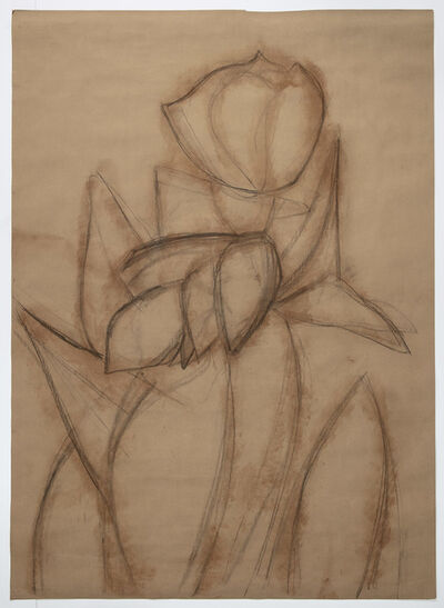 Alex Katz, 'Purple Tulips 2', 2020