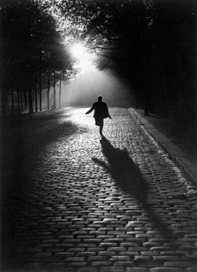 Sabine Weiss, 'L'homme qui court', 1953
