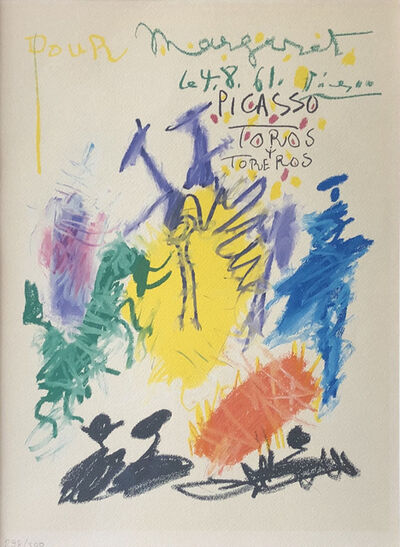 Pablo Picasso, 'Toros y Toreros', 1961