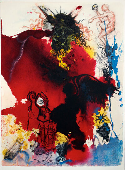 Salvador Dalí, 'Jesus Is Tempted By Satan', 1964-1967