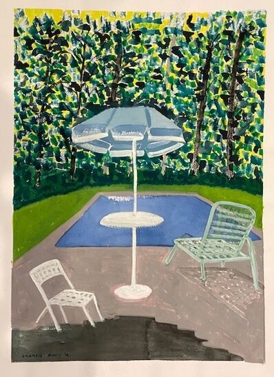 March Avery, 'Poolside', 2012