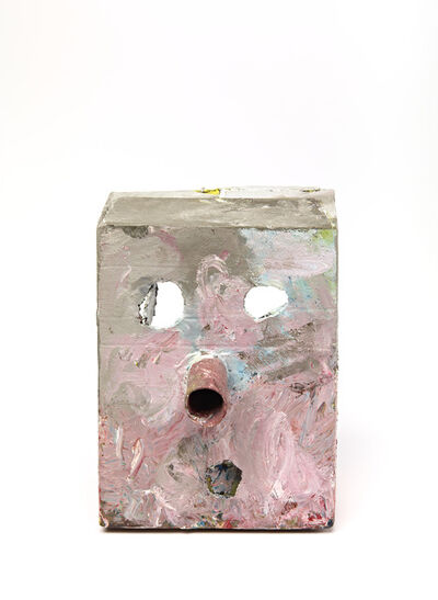 Mark Grotjahn, 'Untitled (French Grey Pink Mask M17.A)', 2012