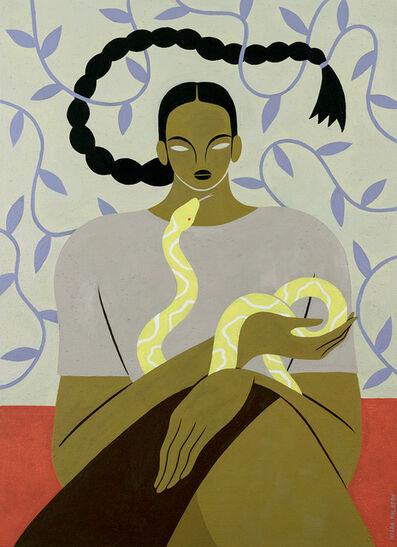 Hilda Palafox, 'Mujer y Serpiente', 2020