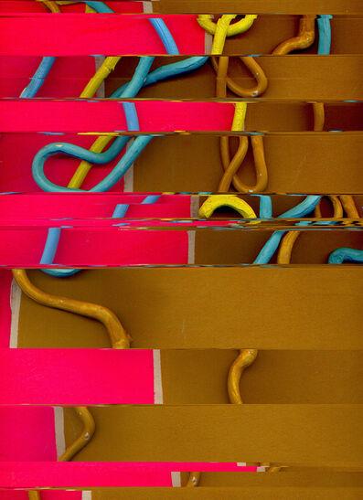 Liz Trosper, 'toothy zip (neon:ochre)', 2019