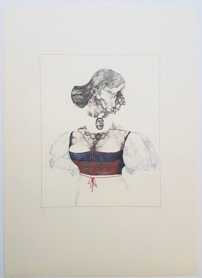 Reiner Schwarz, 'Das Dirndl Modell', 1972
