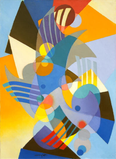 Stanton MacDonald-Wright, 'La Gaite', 1958