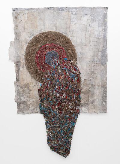 Wallen Mapondera, 'Melting Target II', 2019