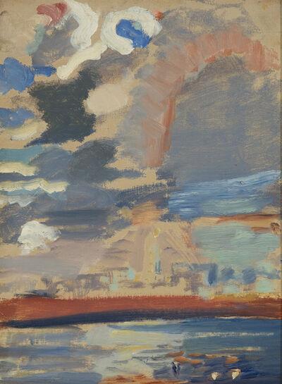 John Marin, 'Weehawken Sequence', ca. 1916