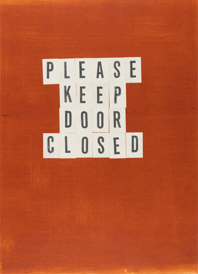 Todd Norsten, 'Please Keep Door Closed', 2017