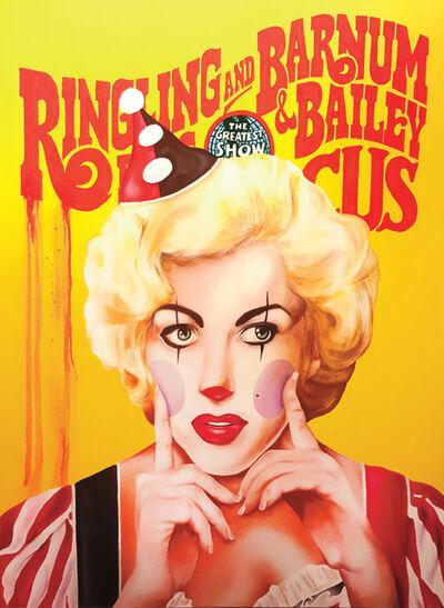 """James """"Sexer"""" Rodriguez, 'Circus Marilyn', 2017"""