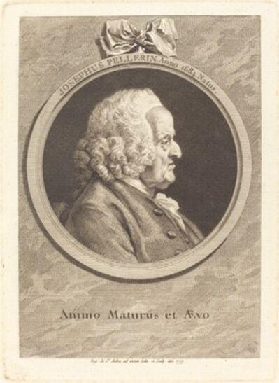 Augustin de Saint-Aubin, 'Joseph Pellerin', 1777