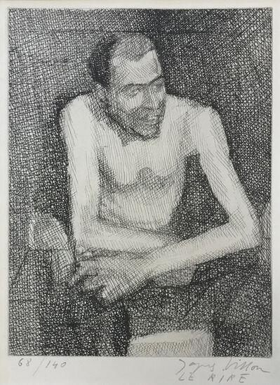 Jacques Villon, 'LE RIRE', 1935