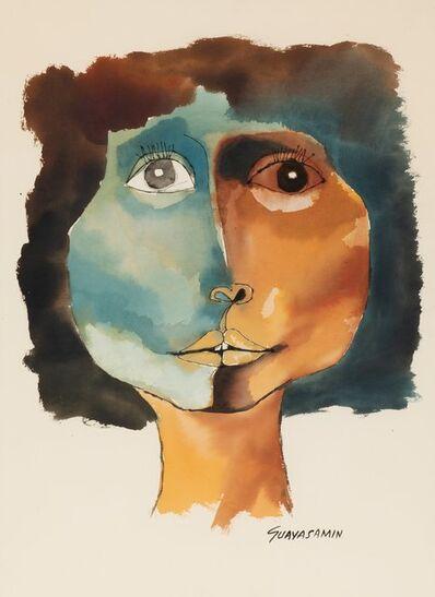 Oswaldo Guayasamín, 'Cabeza', 1989