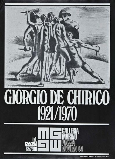 Unknown Artist, 'Poster Giorgio De Chirico Exhibition', 1973