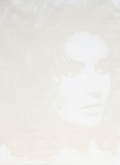 Russell Young, 'Elizabeth Taylor - White + Ivory', 2020