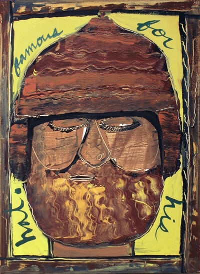 Isaiah Zagar, 'Famous for His Hat ', 1984