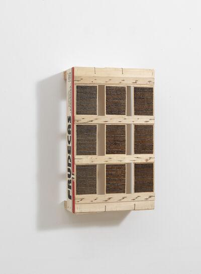 Roger Ackling, 'Voewood', 2010