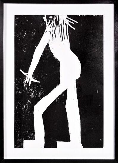 David Shrigley, 'David Shrigley, Man, Woodcut, 2005', 2005