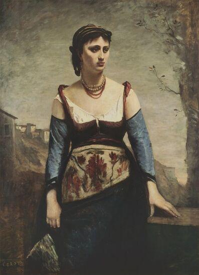 Jean-Baptiste-Camille Corot, 'Agostina', 1866