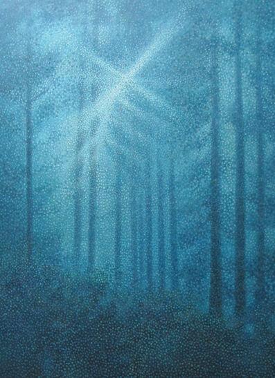Chen Zhang Hong, 'Blue forest', 2007