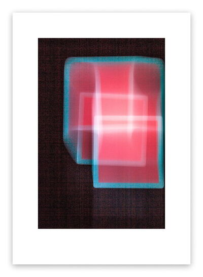 Luuk de Haan, 'Reddish Square (Abstract photography)', 2013