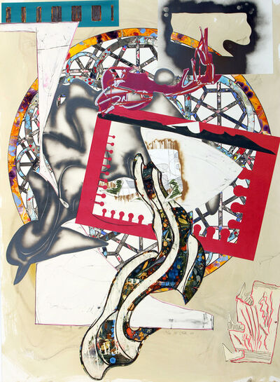 Frank Stella, 'The Pacific', 1988