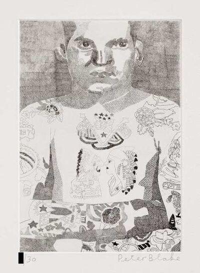 Peter Blake, 'Elvis Two Rivers', 2014